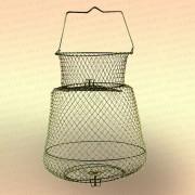 Садок рыболовный, металлический диаметр 33 см