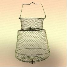 Садок рыболовный, металлический диаметр 25 см