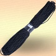Шнур универсальный 50 м, диаметр 4 мм, цвет черный