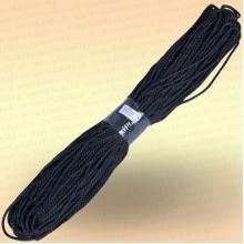 Шнур универсальный 100 м, диаметр 4 мм, цвет черный