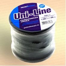 Леска Uni-Line 250 г. 1,2 мм, тест 58 кг, длина 190 м