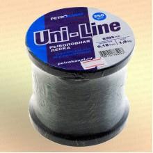 Леска Uni-Line 250 г. 0,18 мм, 1,9 кг, длина 8395 м