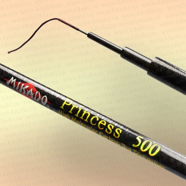 Удилище без колец Mikado Princess 5 м, тест 10-30 гр