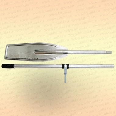 Весло катерное 192 см, дюраль, с уключиной (Казанка, Прогресс)