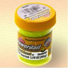 Форелевая паста Berkley Natural Scent Glitter Garlic, Чеснок