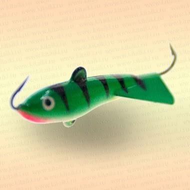 Балансир  9 гр., зеленый, хвост сплошной