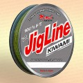 Плетенка JigLine Kiwami 125 -150 м, цвет - хаки