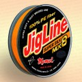 Плетенка JigLine MX8 Super Silk 100 -150 м, цвет - оранж.