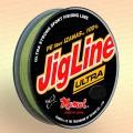 Плетенка JigLine Ultra PE fiber 100 - 150 м, цвет - хаки