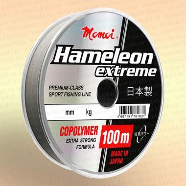 Леска рыболовная Hameleon Extreme, прозрачная, 100 м 0,28 мм 8,5 кг