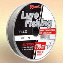 Леска рыболовная Lure Fishung для блеснения, прозрачная, 100 м 0,17 мм тест 3,5 кг