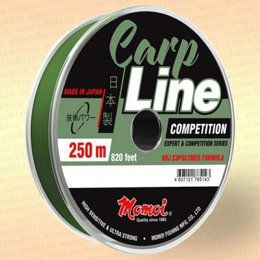 Леска Carp Line Competition, оливковая, 250 м 0,23 мм тест 5.5 кг