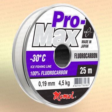 Леска рыболовная флюрокарбоновая, 25 м 0,12 мм тест 1,5 кг