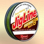 Плетенка JigLine Fast Sink 100 м, цвет - хаки, 0,20 мм, тест 14 кг