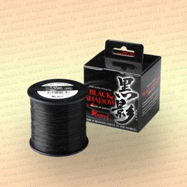 Леска рыболовная Black Shadow, 1400 м, черная 0,20 мм тест 4,7 кг