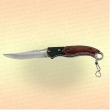 """Нож туристический """"Следопыт"""" деревянная ручка, дл. клинка 70 мм"""