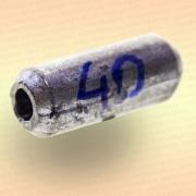 Груз цилиндр свинцовый 40 гр