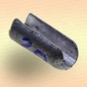 Груз цилиндр свинцовый 16 гр с разрезом