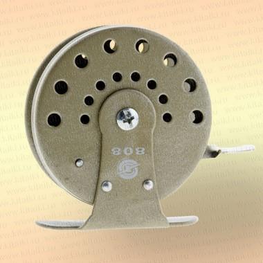 Катушка 808 для зимней удочки серая, диаметр 65 мм
