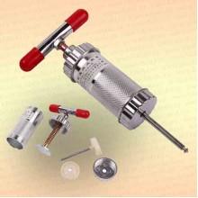 Пресс для прикормки, металл вн.диаметр 38 мм, длина 90 мм