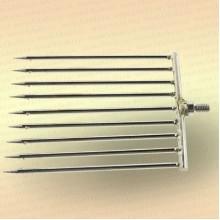 Инструмент для очистки водоема 2D зуб - 4 мм, 9 зубьев