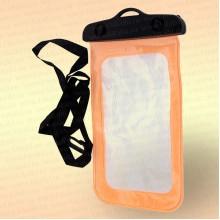 Водонепроницаемый чехол для телефона, цвет: оранжевый