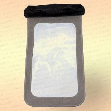 Водонепроницаемый чехол для телефона, цвет: серый, черный