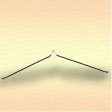 Антизакручиватель коромысло симметричный, проволока в оплетке