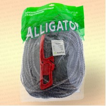 Одностенная Alligator, высота 1,8 м, длина 30 м, ячея 35 мм