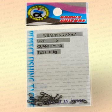 Безузловая застежка Wrapping Snap, номер 5, тест 12 кг