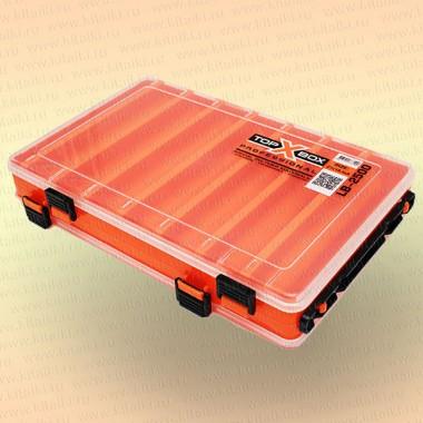 Коробка TOP BOX LB- 2500 (27*18,5*5 cм) оранжевая