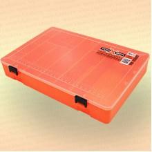 Коробка TOP BOX TB- 3500 (31*23*5 cм) оранжевая