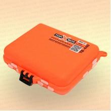 Коробка TOP BOX TB- 440 (12*10*3,4 cм) оранжевая