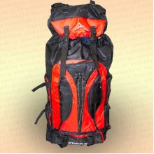 Рюкзак рыбака и туриста, красный 80 л