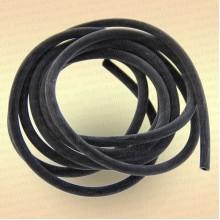 Трубка резиновая, ниппельная длина 1 м, диаметр 3 мм цвет черный