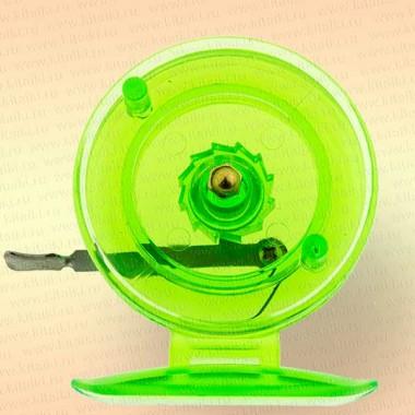 Катушка 808s для зимней удочки, пластик, диаметр 65 мм