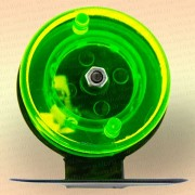 Катушка для зимней удочки зеленая, диаметр 50 мм