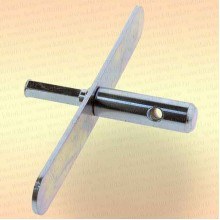 Адаптер 15,5 мм для ледобура под шуруповерт, с планкой