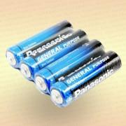 Батарейка солевая AAА R03 1,5 V упак- 4 шт.