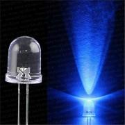 Светодиод для рыболовной торпеды 5 мм, синий свет, супер яркий 20000 мкд LED