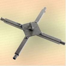 Крестовина для подъемника Kippik Эконом, удлиненная под дуги 5 мм