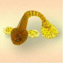 Силиконовая приманка Goby 3,5' - 85 мм, цвет 009 (уп 5 шт)