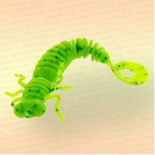 Силиконовая приманка Larva Lux 3' - 75 мм, цвет 020 (уп 6 шт)