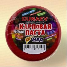 Паста карповая Dunaev 50 мл, мёд