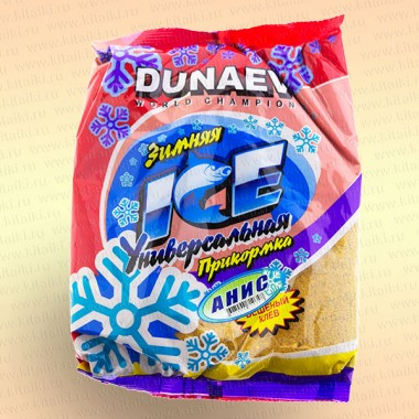 """Прикормка """"DUNAEV iCE-Классика"""" 0.75 кг Анис"""