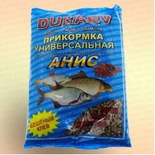 """Прикормка """"DUNAEV КЛАССИКА"""" 0,9 кг в гранулах Анис"""