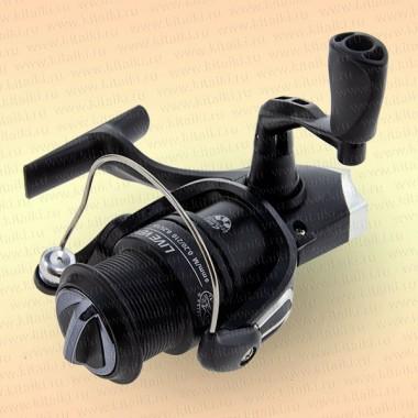 Катушка безынерционная Bazizfish LV300, черная, 4 подш, с передним фрикц.