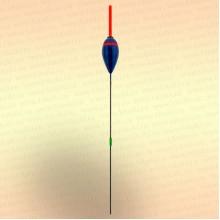 Поплавок SuperBalsa, серия 100, 3,5 гр - синий