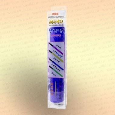 Силиконовая противоскользящая накладка на ручку удилища, спиннинга, подводного ружья цвет - синий