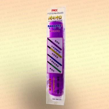Силиконовая противоскользящая накладка на ручку удилища, спиннинга, подводного ружья цвет - фиолетовый